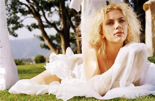 Beautiful Hollywood Actress Scarlett Johansson in White
