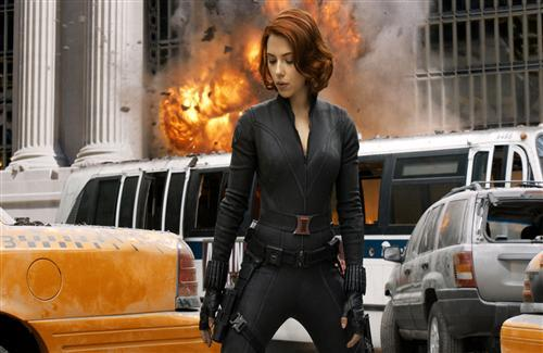 Scarlett Johansson in Avengers Movie HD Wallpaper