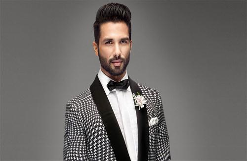 Actor Shahid Kapoor with New Hair Style Photo