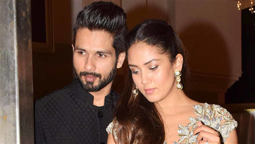 Shahid Kapoor Photo Shoot with Spouse Mira Rajput