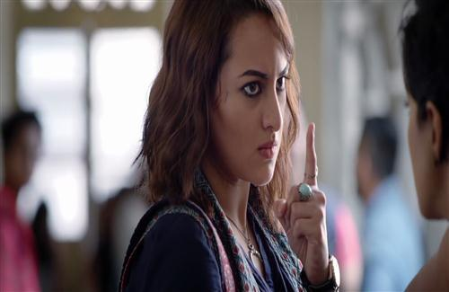 Actress Sonakshi Sinha in Akira Bollywood Film Wallpapers