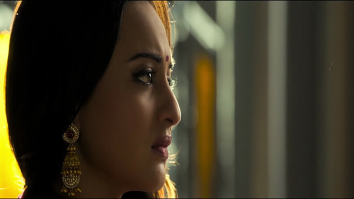 Close Up Face of Sonakshi Sinha in 2019 Film Kalank