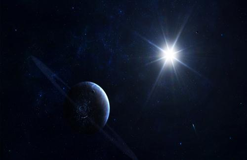 Planet and Bright Star Photo