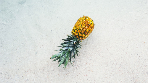 Pineapple on beach during summer season 4k wallpapers hd wallpapers - Background images 4k hd ...