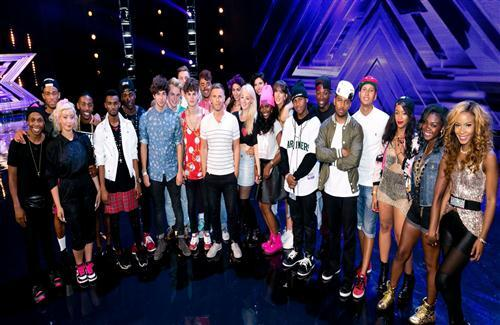 Famous Australian TV Series The X Factor All Contestants HD Photo