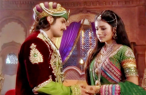 Jodha and Akbar in Famous Indian TV Serial HD Photo