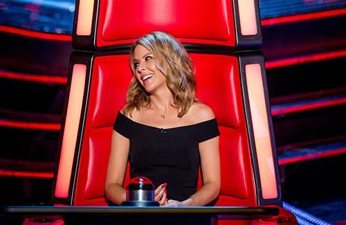 Kylie Minogue in The Voice Australian TV Series HD Wallpapers