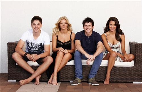 Star Cast Photo of Home and Away Australian TV Show in HD