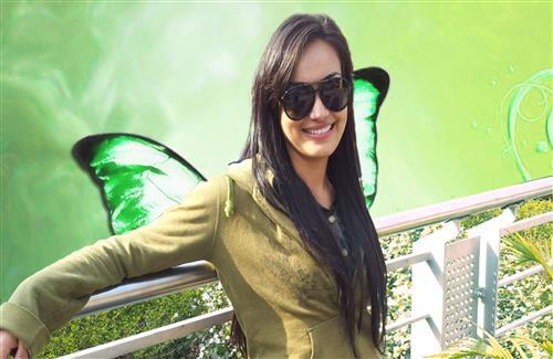 Surbhi Jyoti in Goggles Hindi TV Serial Star Cast Wallpapers