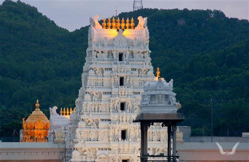 Venkateswara Temple Tirumala India Photo