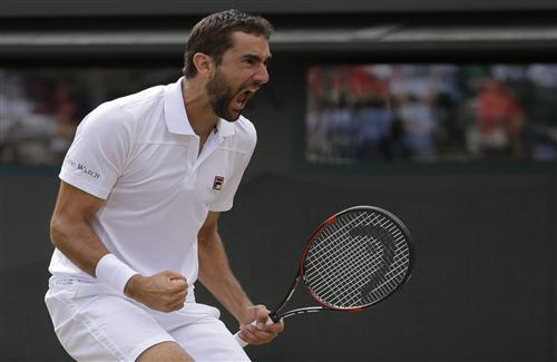 Marin Cilic Celebrating Winning Pics of Tennis