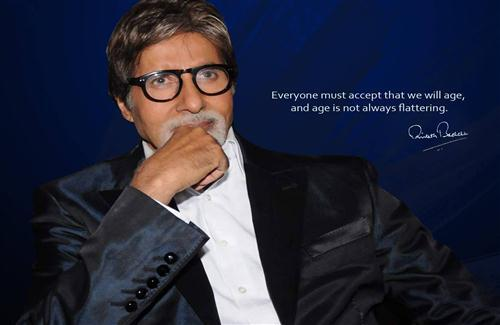 Awesome Beautiful Quote of Bollywood Actor Amitabh Bachchan HD Wallpapers