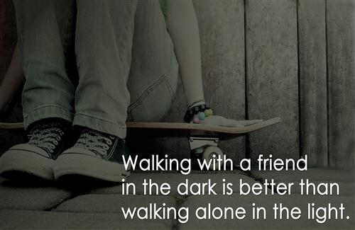 Beautiful Friendship Quote HD Wallpaper