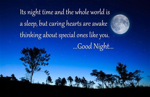 Beautiful Good Night Quote HD Wallpapers