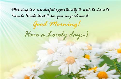 Best Greeting Quotes of Good Morning Wallpapers