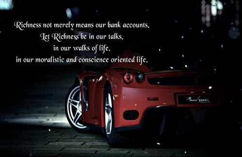 Quote on Richness HD Wallpapers