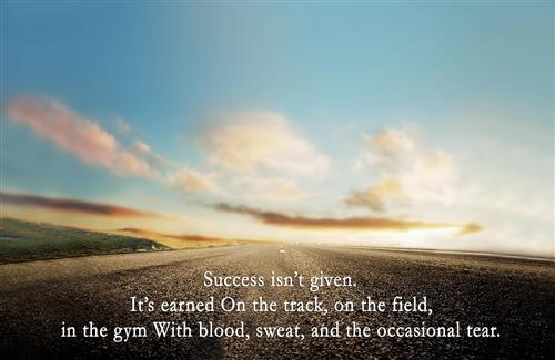 Success Quote High Definition Wallpaper Background