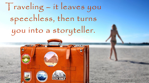 Travel Tour Quotes HD Photo Background
