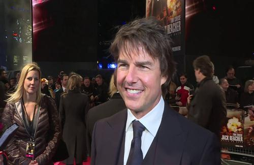 American Actor Tom Cruise in Award Photo