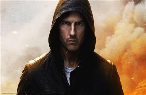 Tom Cruise in Misson Impossible Movie Wallpaper