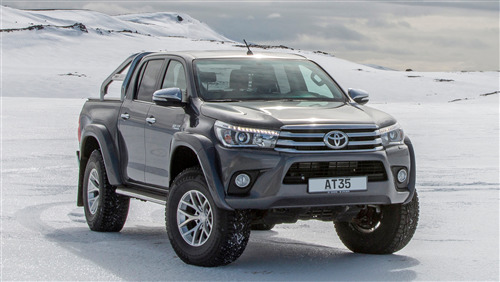 2018 New Launch Hilux AT35 5 Crop Toyora Car