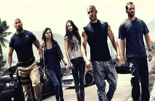 Movie Fast Five Team