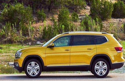 Latest 2018 Volkswagen Atlas SUV Car