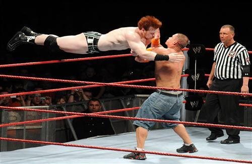 John Cena Fight with Sheamus