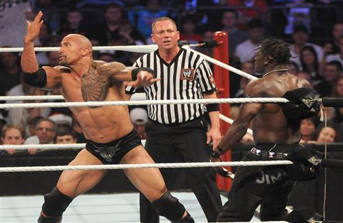 WWE Rock Fights