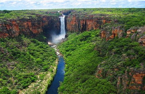Amazing Waterfall of Kakadu National Park in Australia Wallpaper