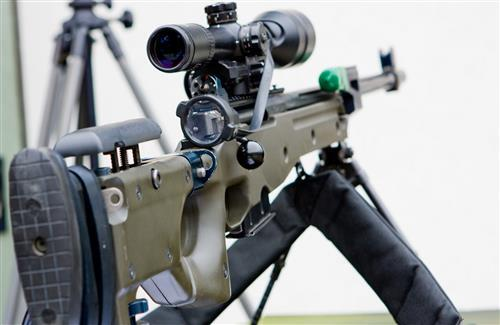 AW G22 Arctic Sniper Rifle Weapons Photo
