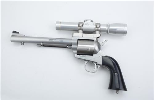 Chrome Revolver with Leupold Weapons HD Desktop Wallpapers
