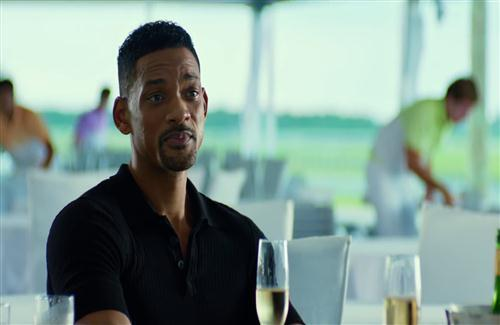 Actor Will Smith in US Hollywood Movie Focus Wallpaper