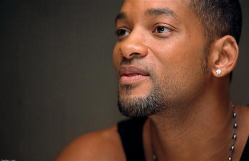 Famous American Actor Will Smith Closeup HD Wallpaper
