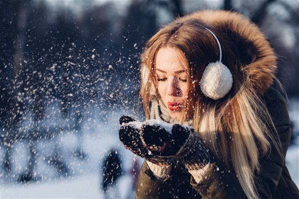 Beautiful Girl Photoshoot in Winter