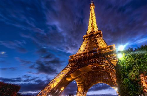 Amazing Lighting Wallpaper of Eiffel Tower Wonder of the World in Paris France HD Wallpapers
