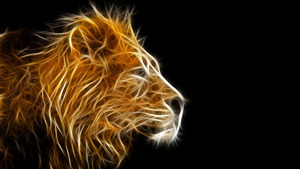3D Image of Lion