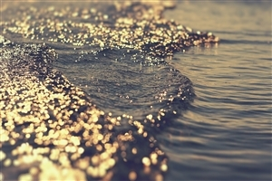 3D Water Scene HD Photo