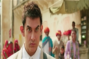 New Look of Aamir Khan in Bollywood Movie PK HD Wallpapers
