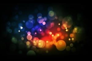 Color Dots Abstract Wallpaper