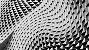 Gray Color Curved Pattern 5K Abstract Wallpaper