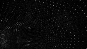 Tunnel Black and White Abstract 5K Wallpaper