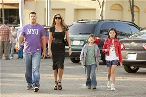 Adam Sandler with Family