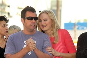 Adam Sandler with Lady