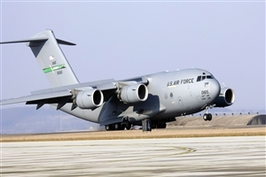 Big Jumbo US Air Force Plane HD Wallpaper