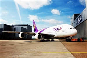 Thai Airbus Airoplane HD Wallpaper