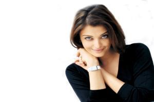 Aishwarya Rai in Black Beautiful Image