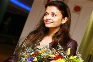 Aishwarya Rai with Flowers