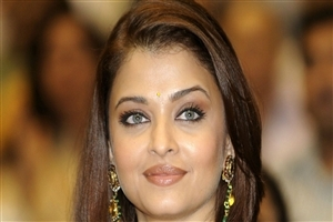 Lovely Celebrity Aishwarya Rai Close Up Face