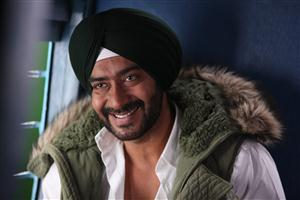 Ajay Devgan in Son of Sardar With Smile